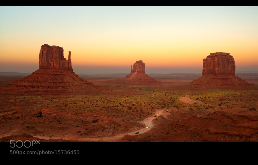Photograph Monument Valley Classic by Carlos CB on 500px
