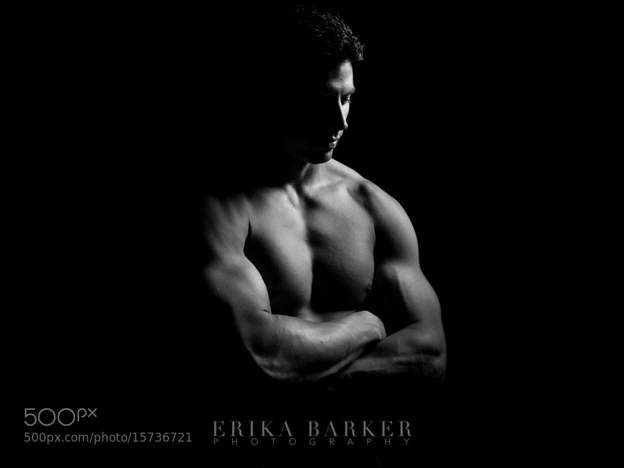 Photograph Flexing Muscle With Adam : Fitness Shoot by Erika Barker on 500px