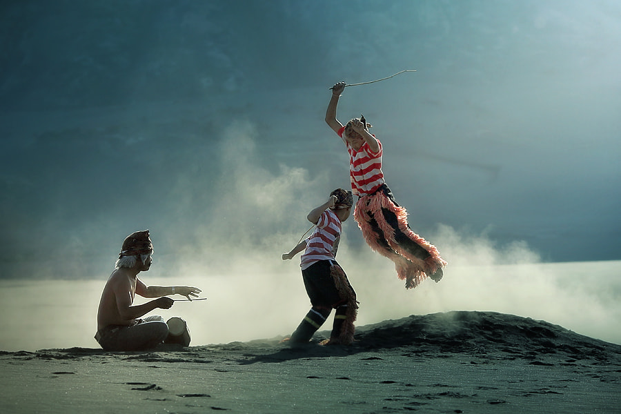 Photograph dance in the desert by asit  on 500px