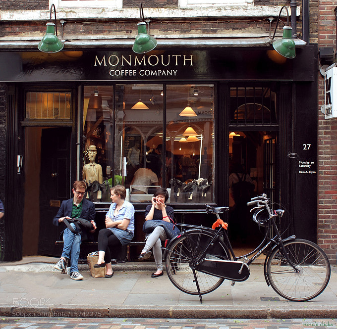 Photograph Monmouth Coffee by Nina's clicks on 500px