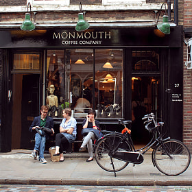 Monmouth Coffee by Nina's clicks (ninasclicks)) on 500px.com