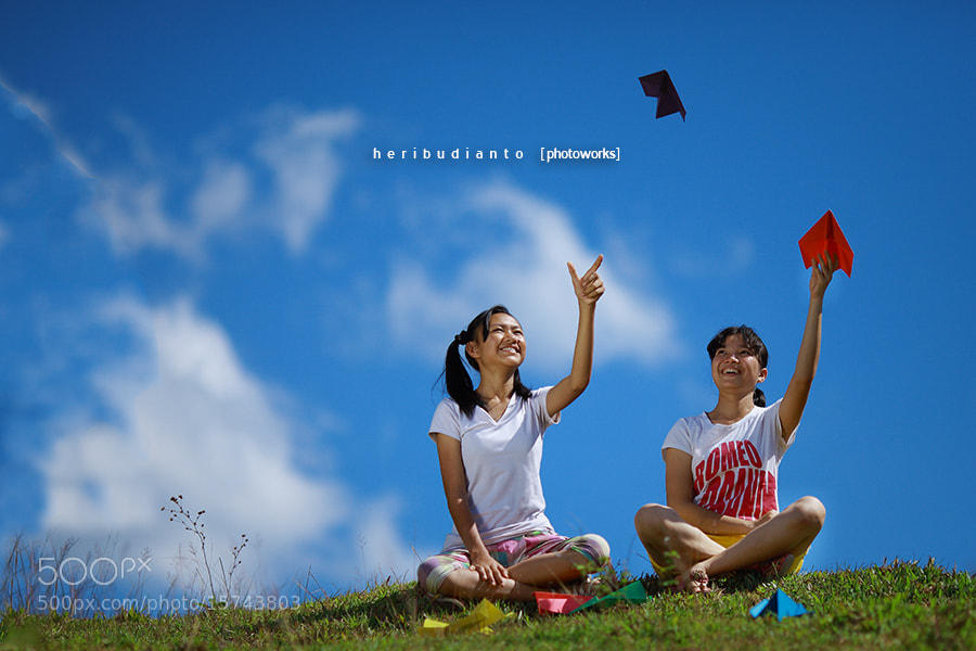 Photograph Paper Airplane #2 by Heri Budianto on 500px