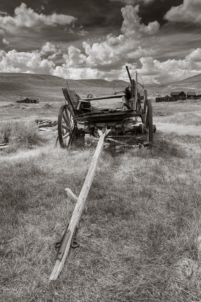 Photograph Bodie California wagon by Brandon Falls on 500px