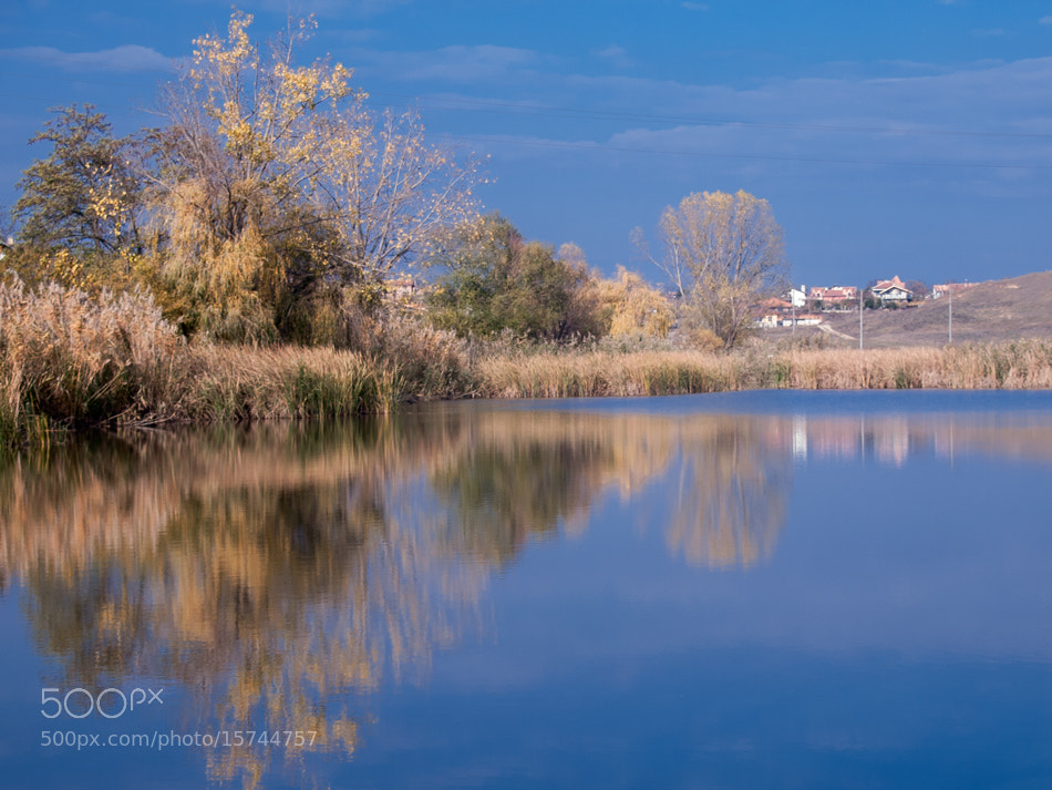 Photograph Autumn in blue... by Hristofor Tashev on 500px