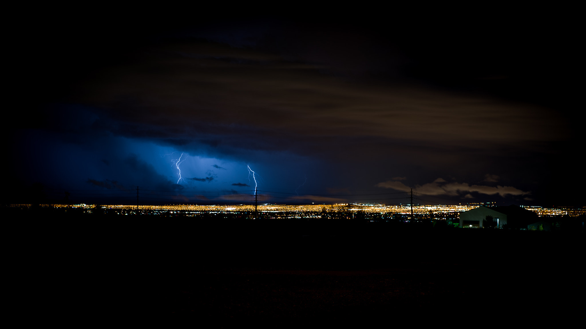 Photograph Las Vegas Lightning by Matthew Brown on 500px
