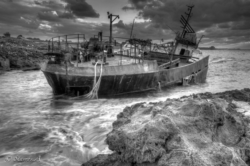 Photograph Shipwreck by Stavros Argyropoulos on 500px