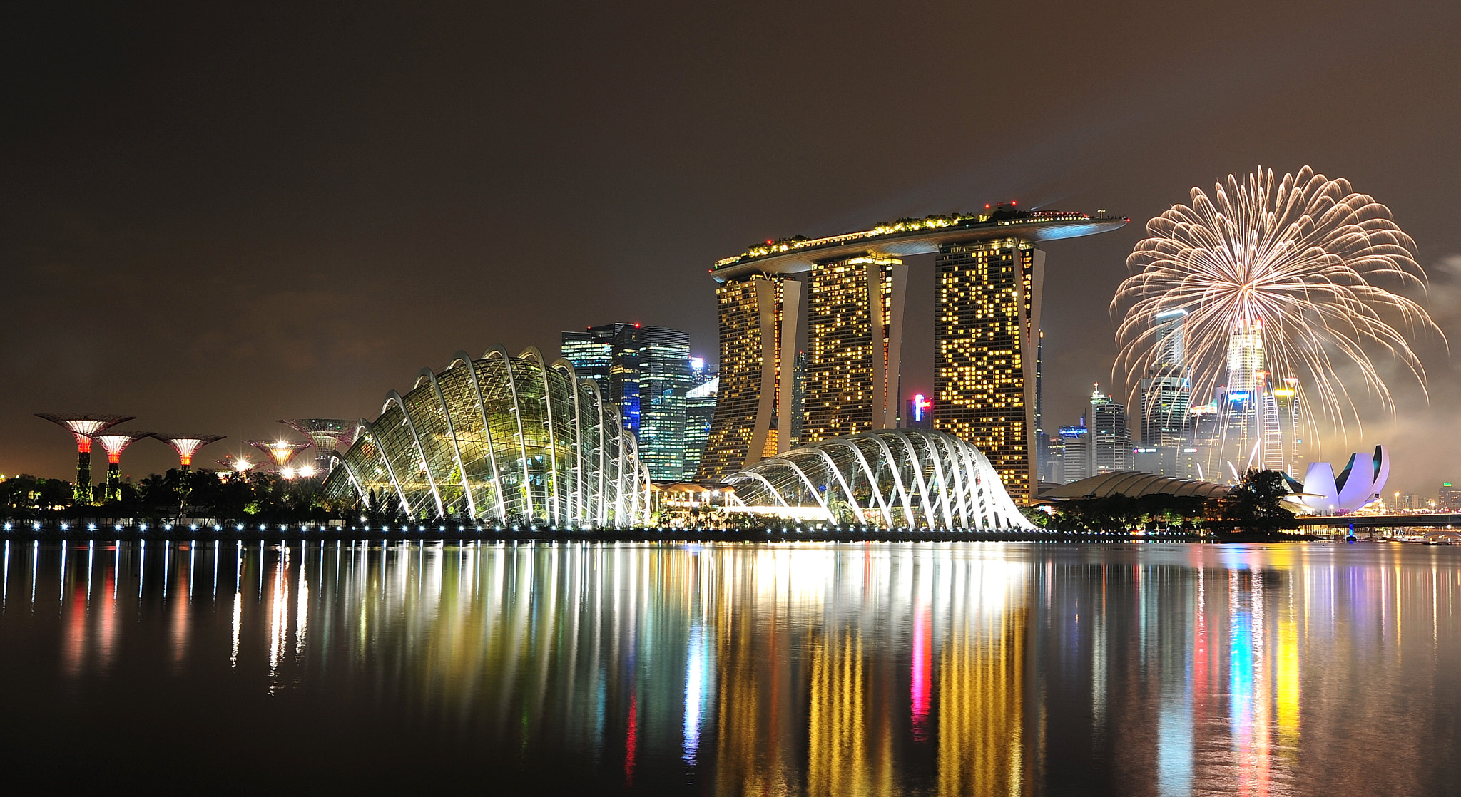 Photograph Marina Bay by whopaintdsky  on 500px