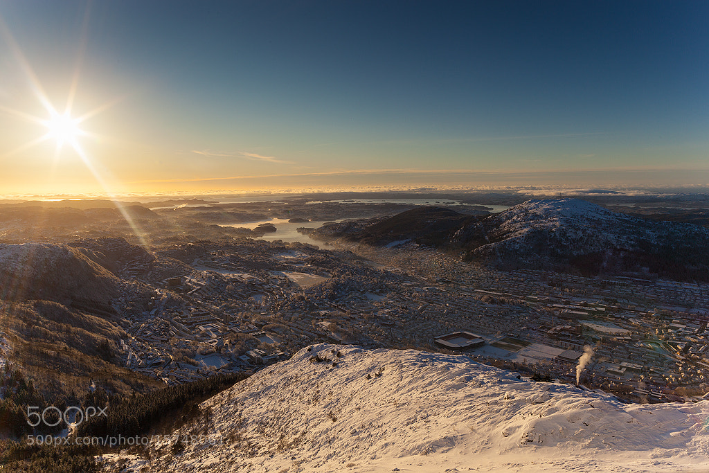Photograph A nice winter day in Bergen by Espen Haagensen on 500px