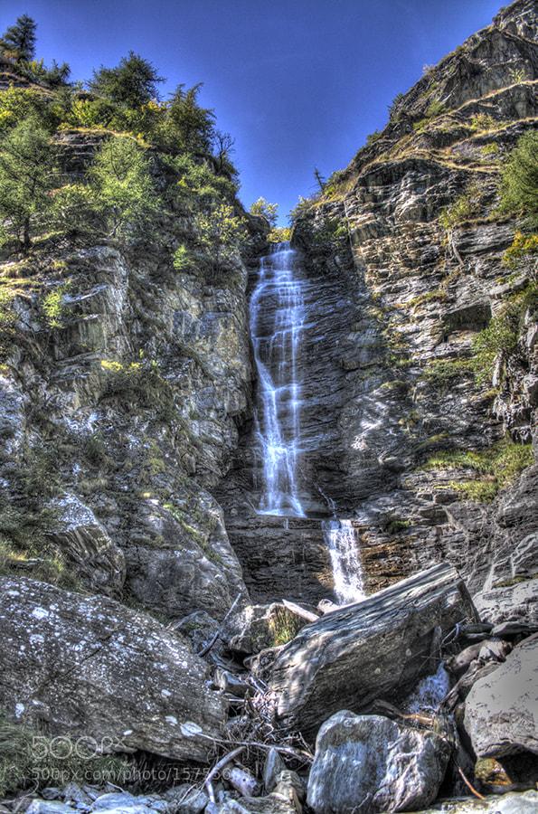 Photograph Waterfall by Edoardo Liverani on 500px
