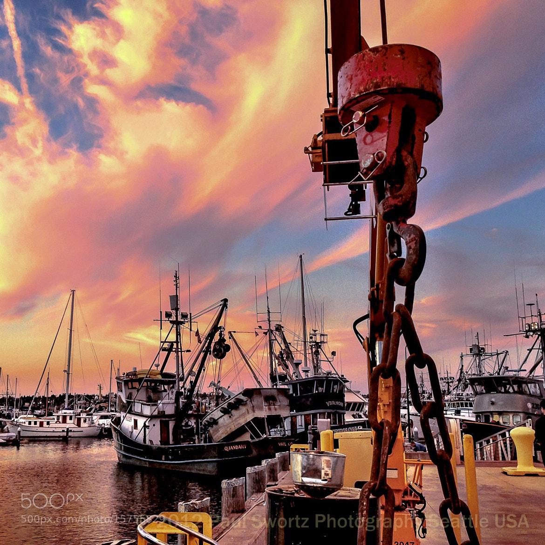 Photograph Fishermens Terminal, Seattle by Paul Swortz on 500px