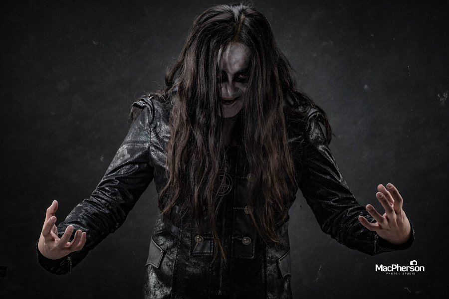 Black Metal Artist Photoshoot