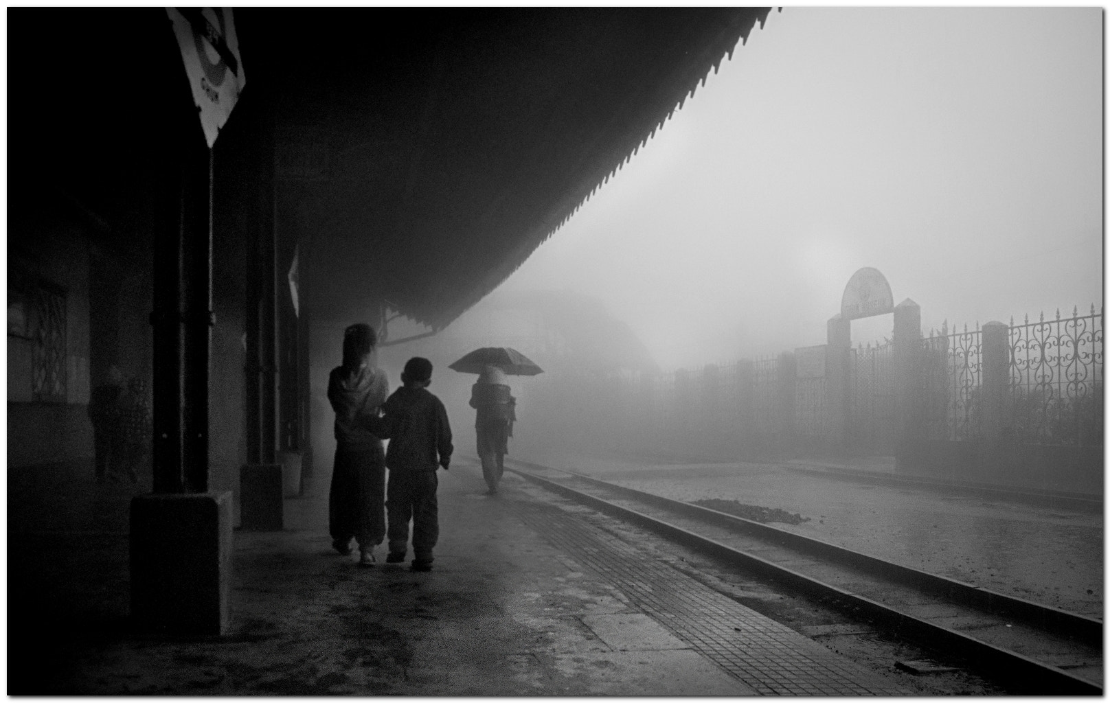 Photograph rain at Ghum Station l Darjeeling by Sumon Das on 500px