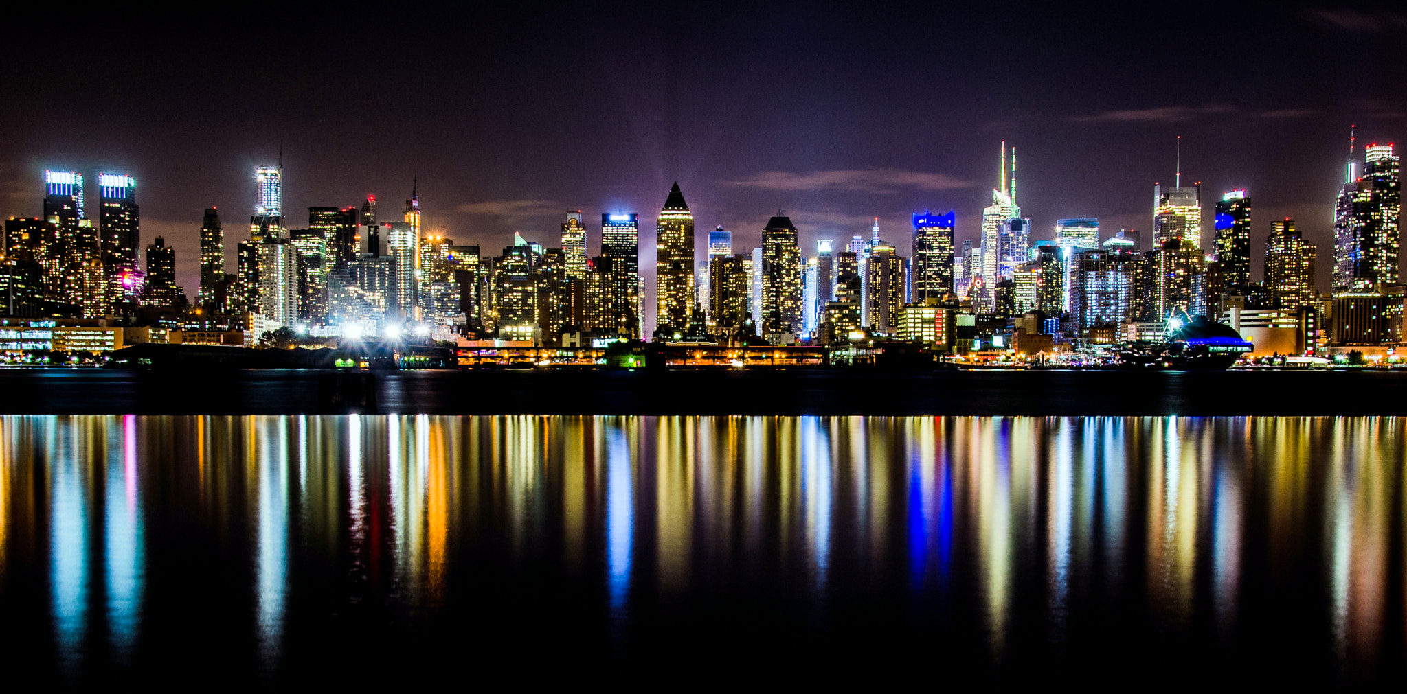 Photograph The Big Apple @ Night ll by Mauricio Fernandez on 500px