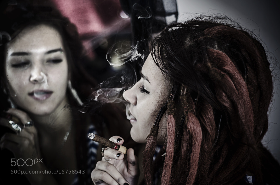 Photograph smoke in mirror by Sly Zombie on 500px