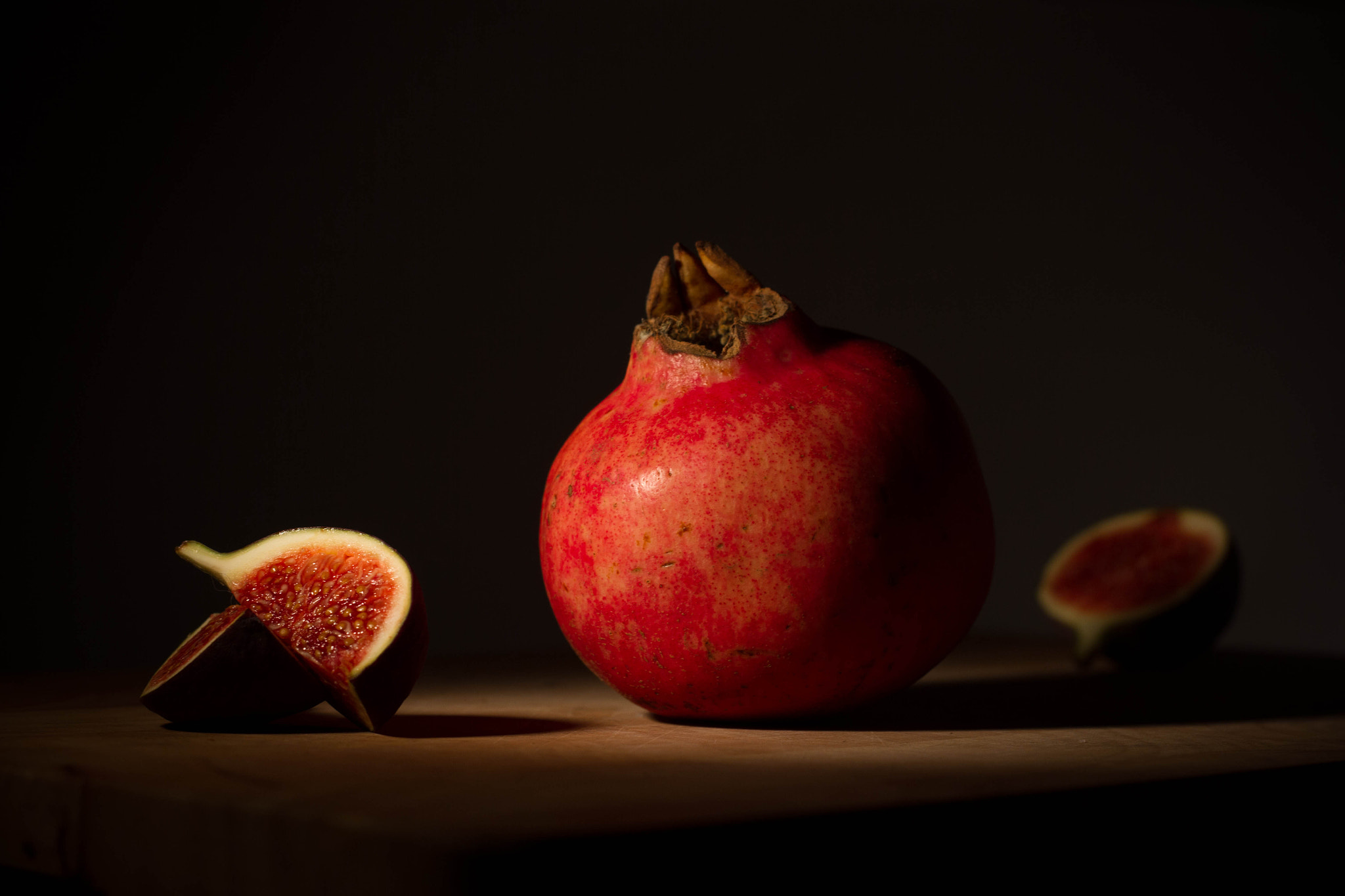 Photograph pomegranate & fig by Jamie Shardlow on 500px