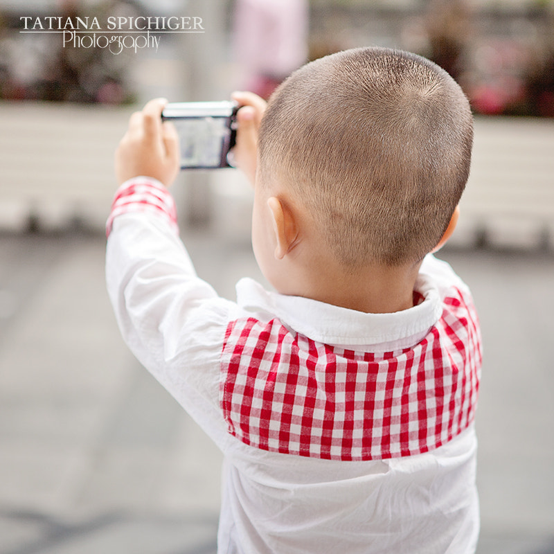 Photograph Cute little photographer by Tatiana Spichiger on 500px