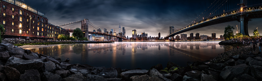 Brooklyn Cove Panorama de Edward Reese en 500px.com