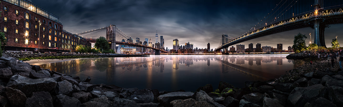 Brooklyn Cove Panorama by Klassy Goldberg on 500px