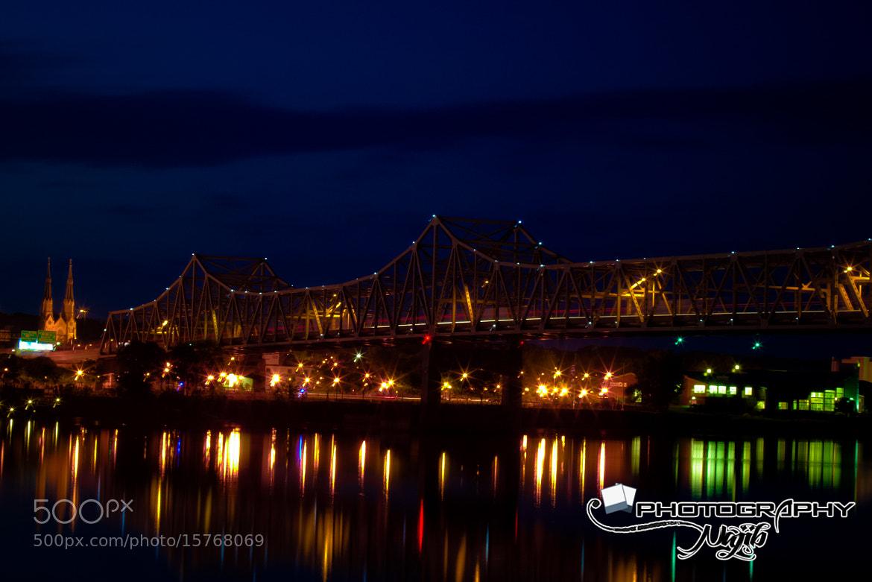 Photograph Riverfront Bridge by Najib Khan on 500px