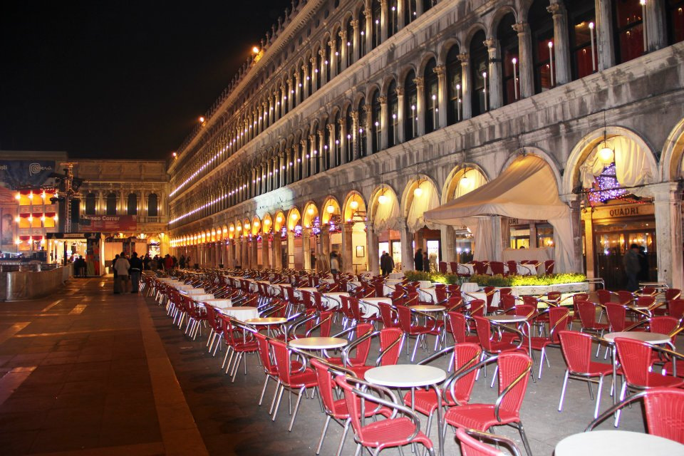 Photograph Venice - late night in Piazza San Marco by Nev Taylor on 500px
