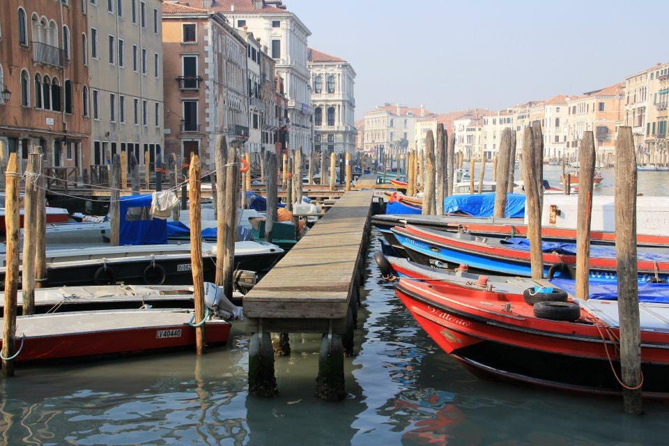 Photograph Moored up on the Grand Canal by Nev Taylor on 500px