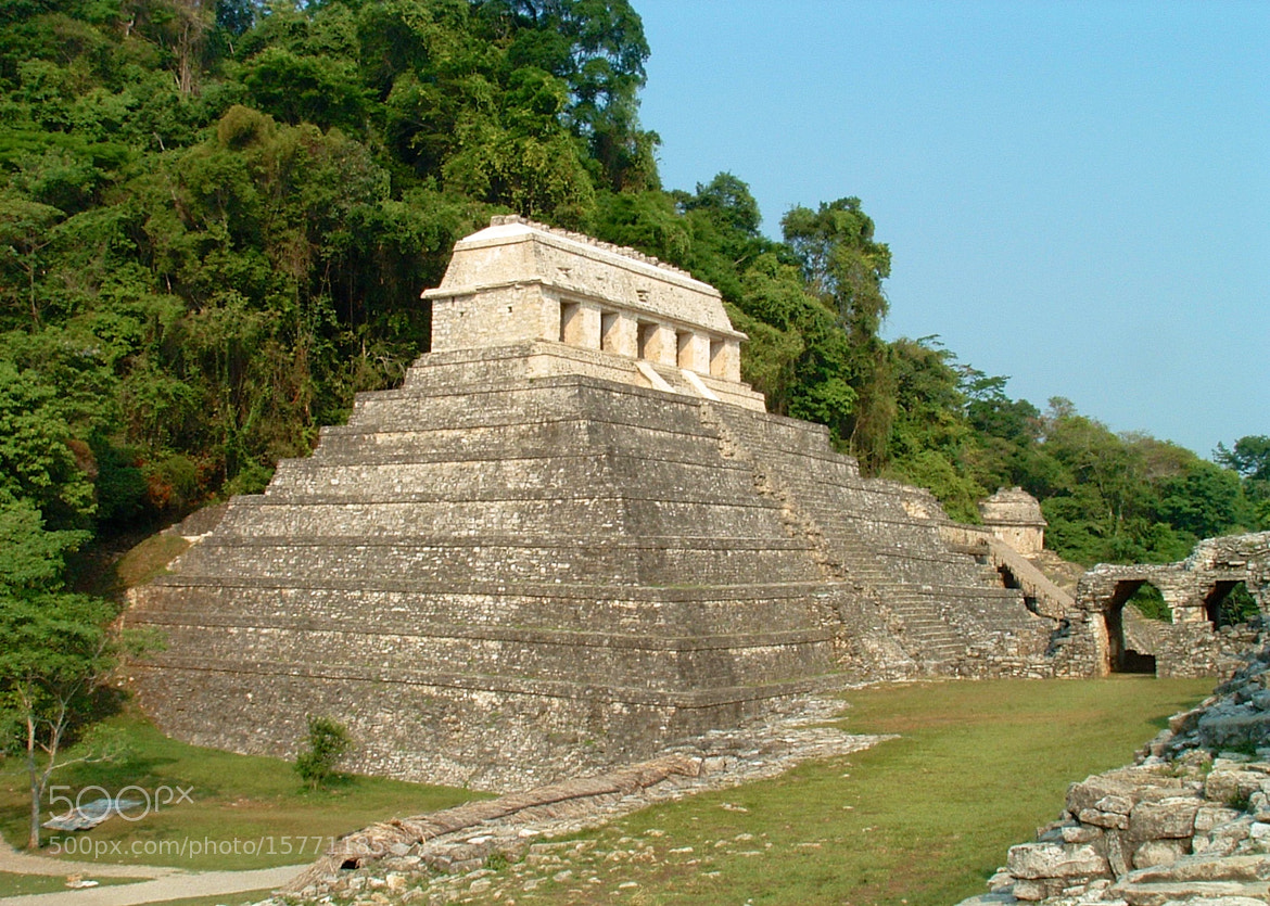 Photograph Palenque 2003 by Guy Howard on 500px