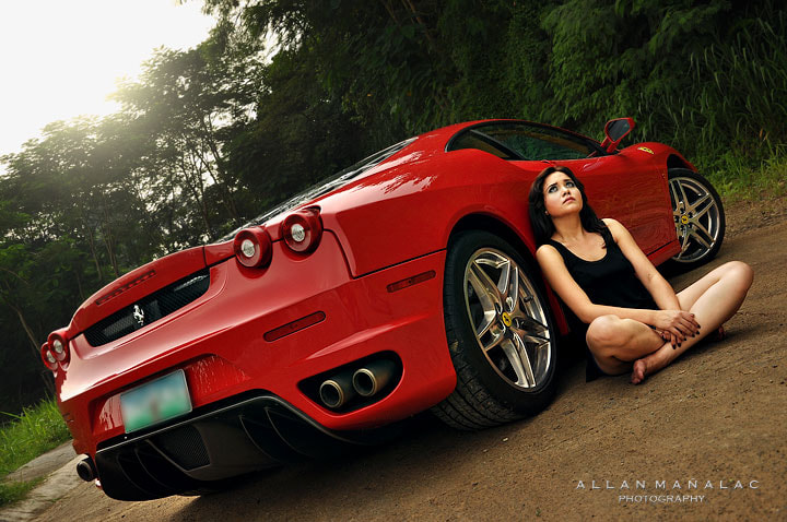 Photograph ME and MY FERRARI by allan manalac on 500px
