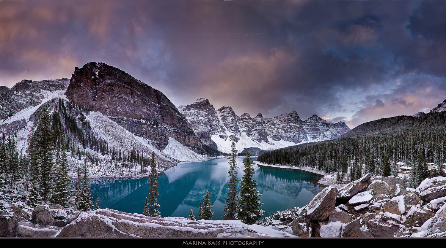 Photograph Moraine Lake by Marina Bass on 500px