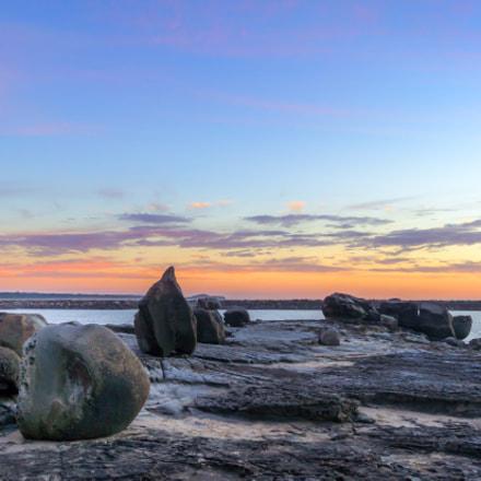 Yamba Rocks NSW Australia