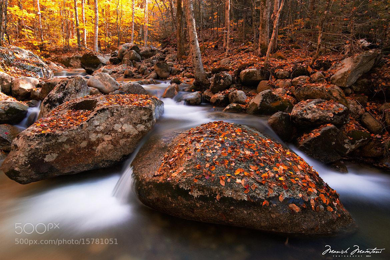 Photograph WaterFalls of NH by Manish Mamtani on 500px