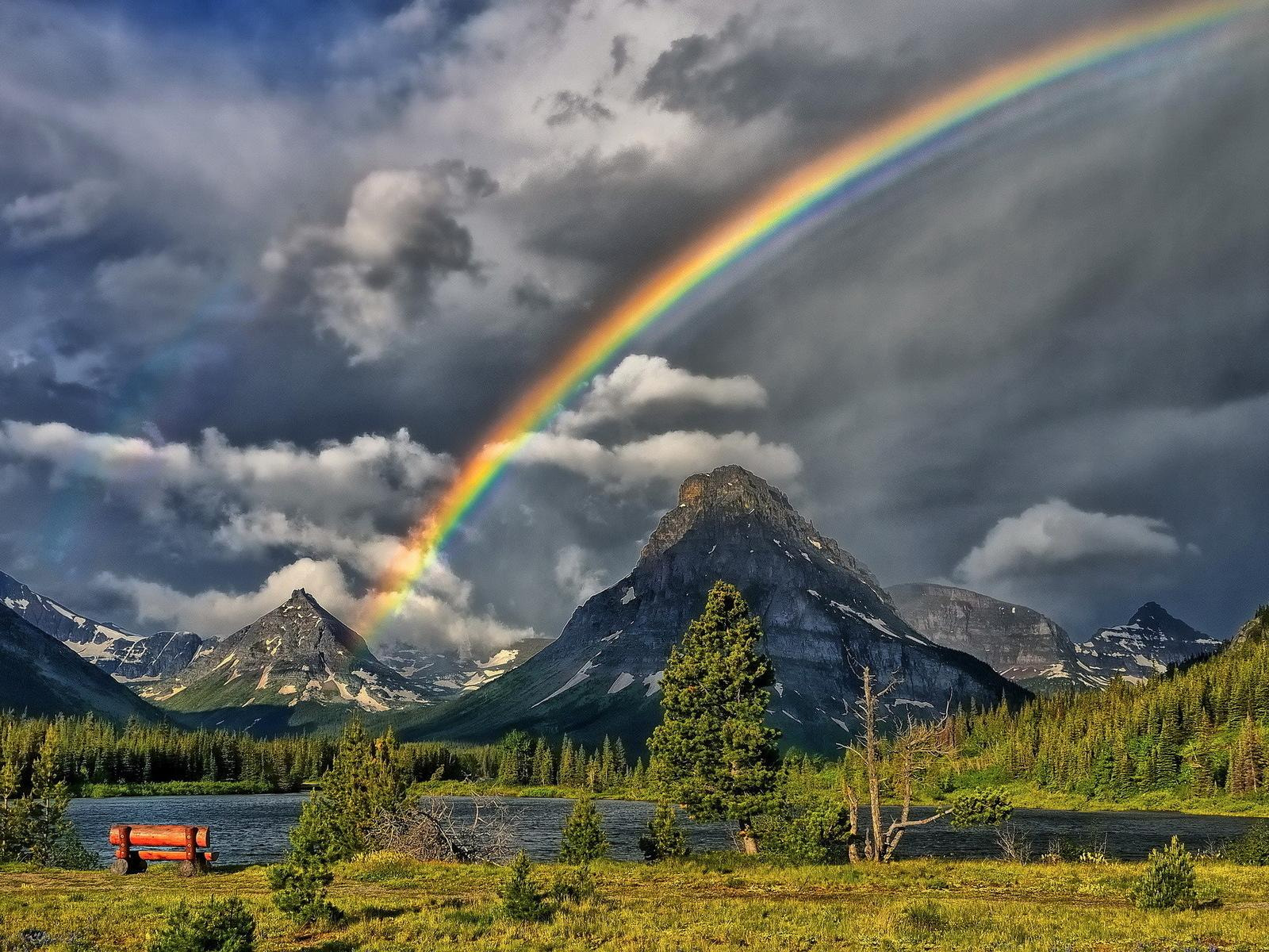 Beautiful Rainbow Picture