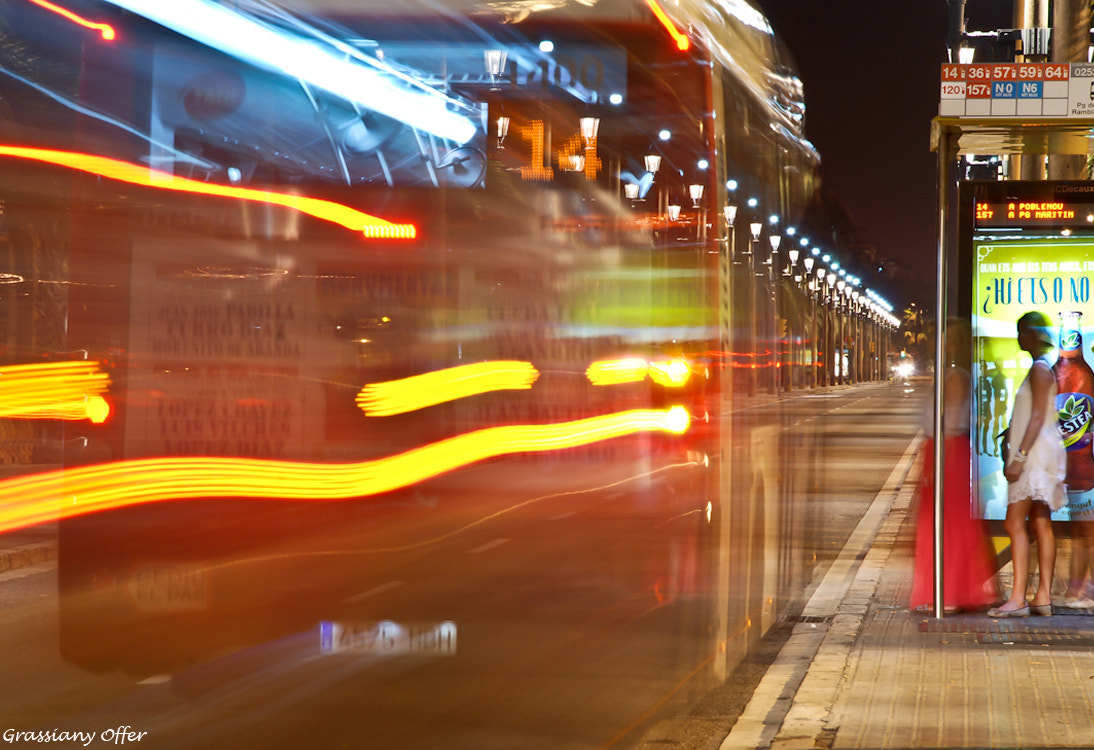 Photograph Ghost Bus by Offer Grassiany on 500px