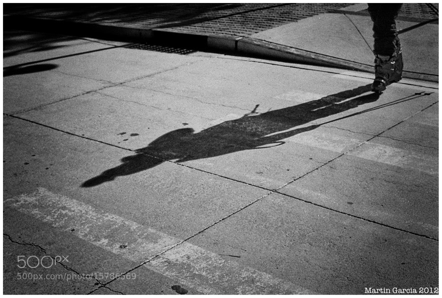 Shadow of a Skier