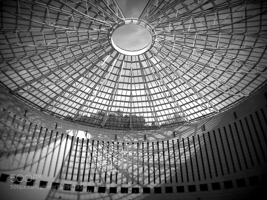 MART - Mario Botta - Rovereto - bw by Fabrizio Pivari (pivari) on 500px.com