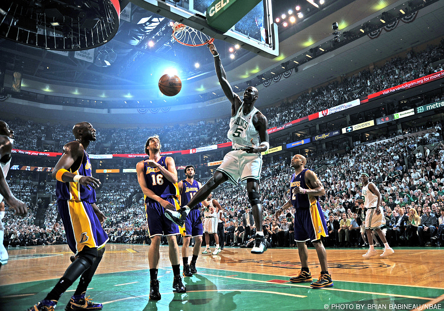 Celtics - Kevin Garnett by Brian Babineau on 500px.com