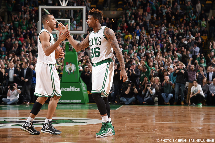 Celtics - Avery Bradley/Marcus Smart by Brian Babineau on 500px.com