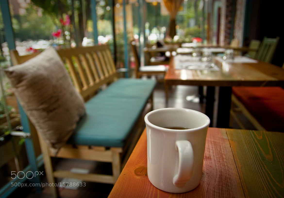 Photograph Coffee at brunch cafe by Team B&K on 500px