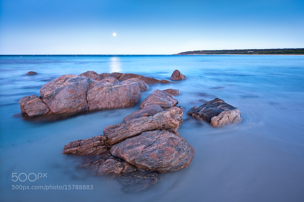 Photograph Bunker Bay - Moonrise by Luke Austin on 500px