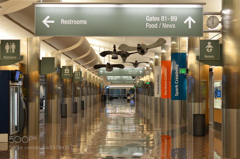 Photograph airport reflection by helmut flatscher on 500px