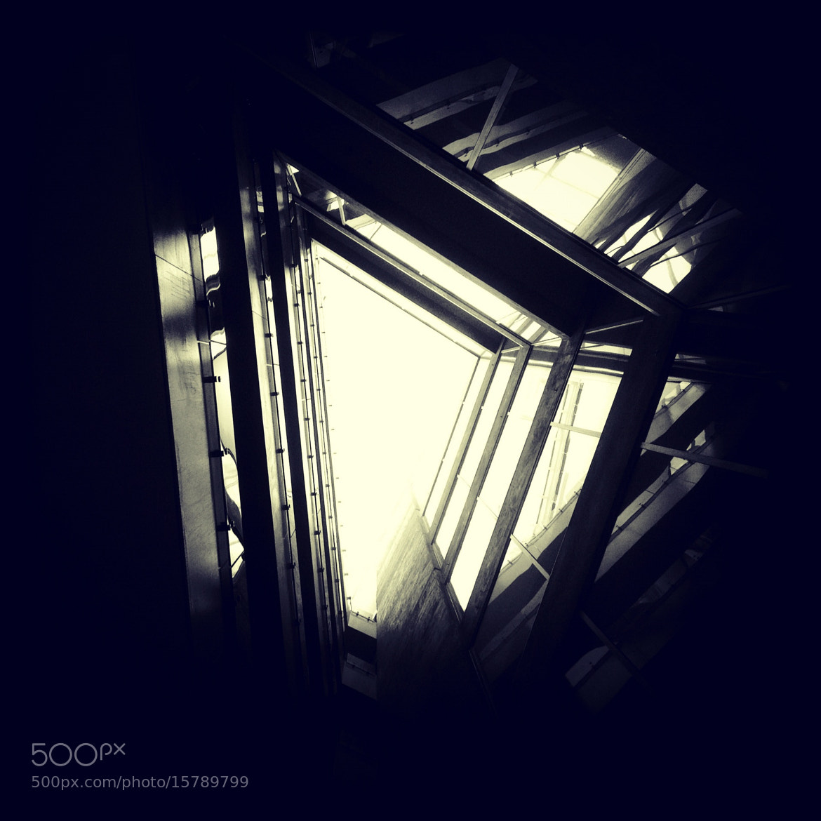 Photograph Light of Triangle-3 by Ye Yuan on 500px
