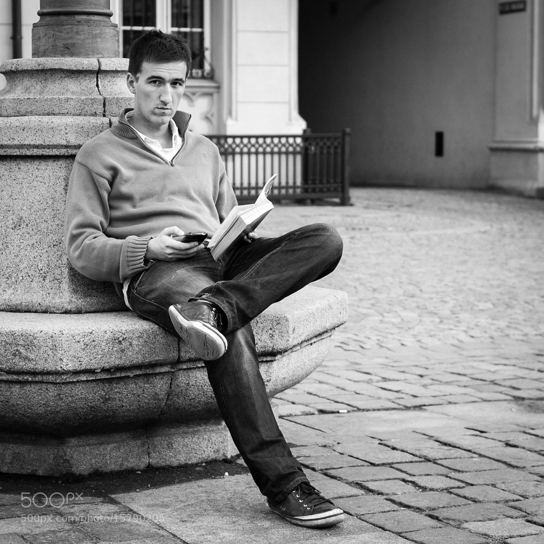 Photograph reader by Jakub Ostrowski on 500px