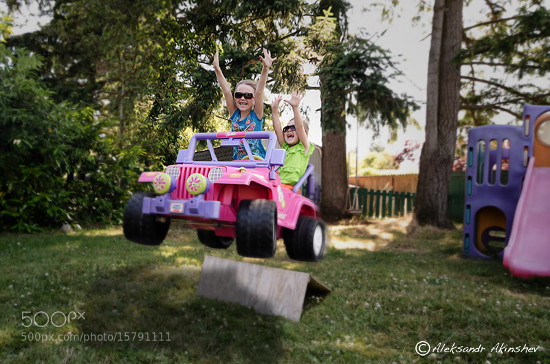 Photograph Extreme backyard jeeping by Aleksandr Akinshev on 500px