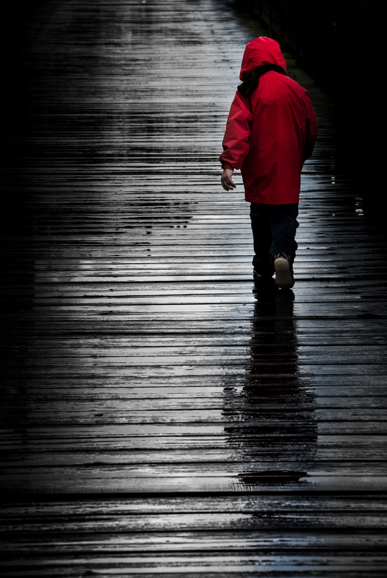 Photograph Alone ... and the rain ... by Jean-Claude Boucher on 500px