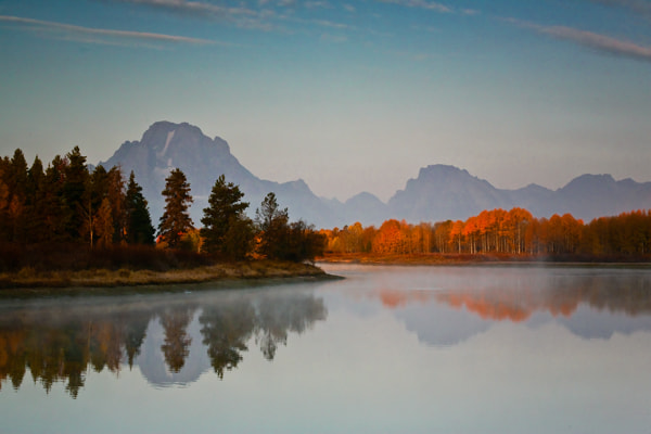 Photograph Morning Glow - Oxbow by Jack Booth on 500px