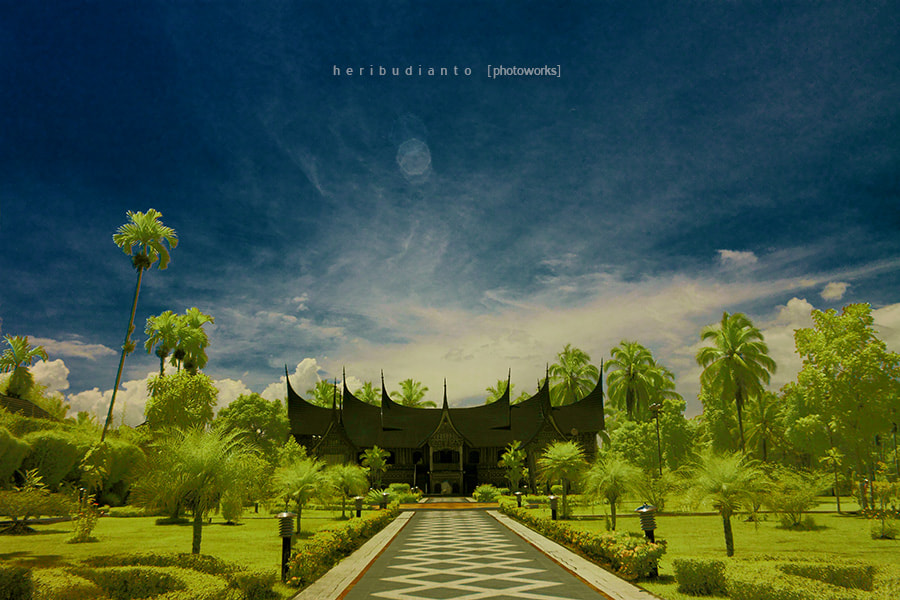 """Photograph """"Gadang House.."""" by Heri Budianto on 500px"""