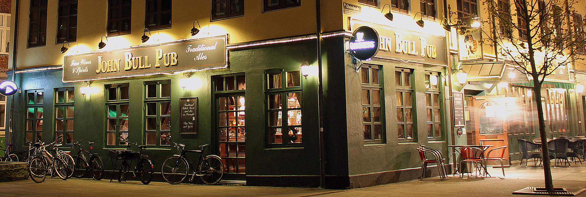 Photograph Pub by night by Nikolai Alex Petersen on 500px