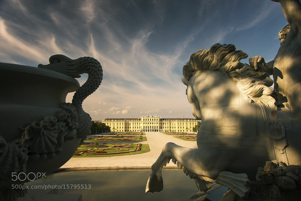 Photograph Vienna, Austria - Schönbrunn Palace by Lars C. on 500px