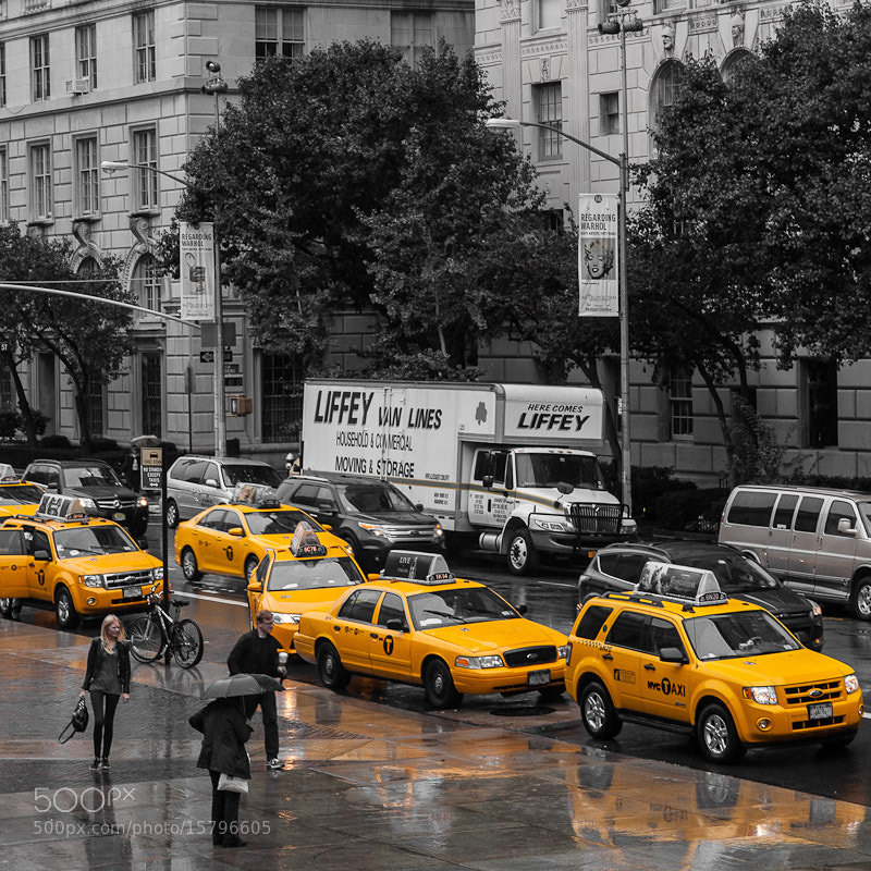 Photograph Taxis by Noun 2B on 500px