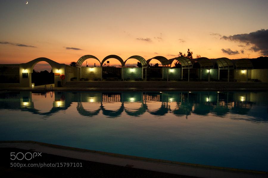Photograph Sunset Reflection by László Reszegi on 500px