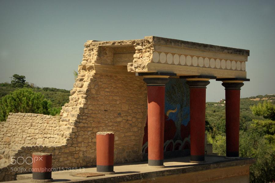 Photograph Palace of Minos by László Reszegi on 500px